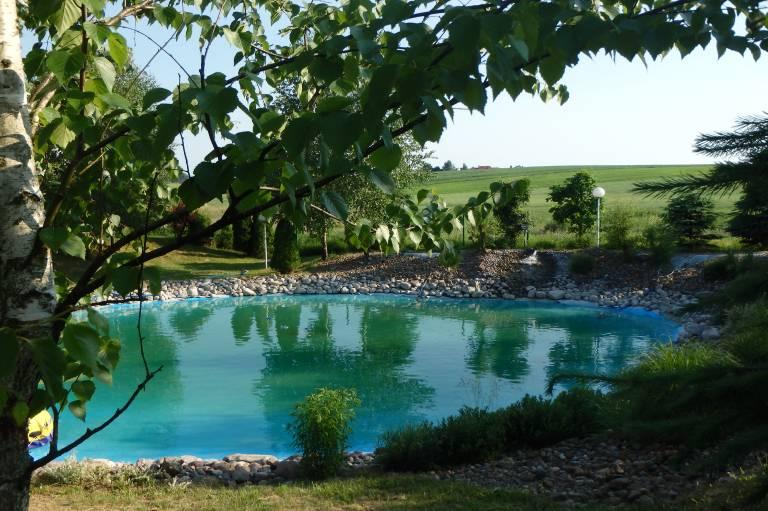 Ogród zoczkiem wodnym